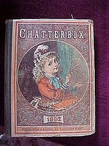 RARE-Original Chatterbox 1882 book