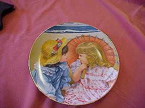 Summer Secrets, A Childhood Almanac series, plate