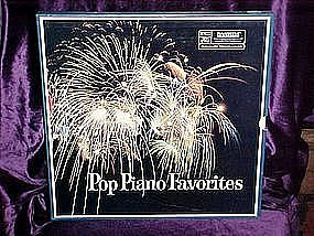 Pop Piano Favorites Lp collection