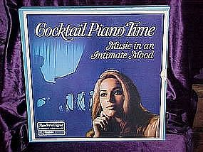 Cocktail Piano Time Lp collection