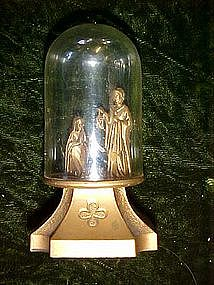 Small plastic Nativity figurine