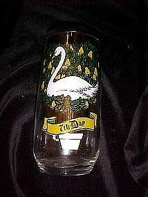 Pepsi Seventh day of Christmas glass