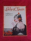 Lady of Spain sheet music 1931