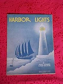Harbor Lights, sheet music