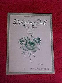 Waltzing doll, sheet music 1936