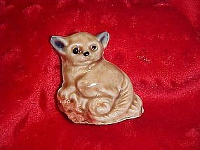 Wade Whimsies  tri color bush baby, 1972