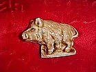 Wade Red Rose Tea wild boar figure