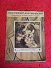Moonlight and Shadows, sheet music 1936