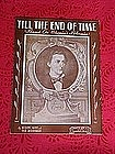 Till the end of time, sheet music 1945