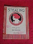 Stealing, sheet music 1921