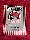 Stealing, sheet music 1921