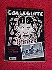 Collegiate, sheet music 1925