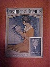 Dreamer of Dreams, deco sheet music 1924