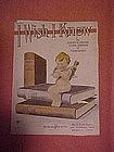 I wish I knew, sheet music 1921
