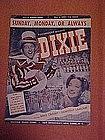 Sunday, Monday, or Always, sheet music 1943