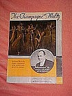 The champagne waltz, sheet music 1934
