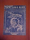 Saint Louis Blues, Louis Armstrong cover 1952