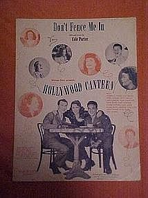 Don't fence me in from Hollywood Canteen 1944