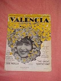 Valencia (A song of Spain) from The Great Temptations""