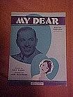 My Dear, music 1929