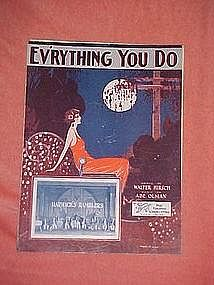 Ev'rything you do, featuring Harwicks Ramblers 1924