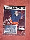Ev'rything you do, featuring Harwicks Ramblers 1924