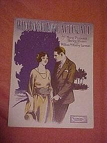 Who Do YOu You Love After All, music 1925