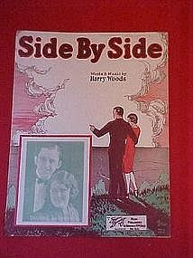 Side by Side, Cover photo of Downing and Reynolds 1927