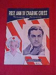 Rose Ann Of Charing Cross, WWII Red Cross music