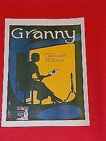 Granny, by L. Wolfe Gilbert and Alex Belledna 1919