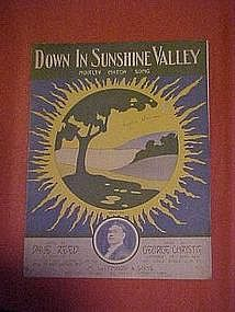 Down in Sunshine Valley, by Dave Reed & George Christie