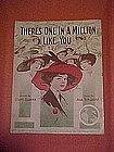 There's one in a million like you, Gibson girls cover