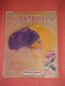 (Baby Rose)My Moonlight Pal,by Bob Sear & Walter Wilson