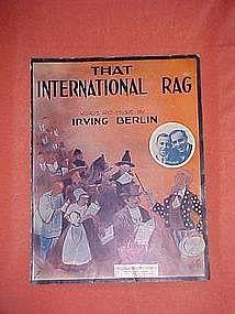 That International Rag, by Irving Berlin 1913