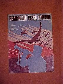 Remember Pearl Harbor, 1942
