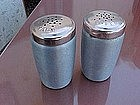 Kromex  aluminum salt and pepper shakers