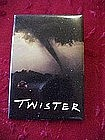 Twister, movie promotional pin back button