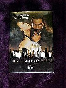 Vampire in Brooklyn movie pin back button