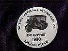 Early day Gas Engine & tractor Assn. Inc, button