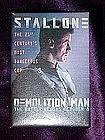 Demolition Man, movie pin back button
