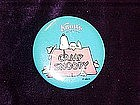 Camp Snoopy, pin back button