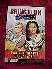 Bring it on again, video release, Pin back button