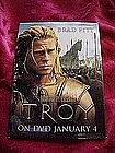 Troy, promotional pin back button