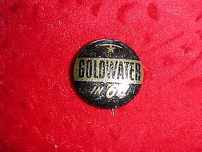 Goldwater campaign button 1964
