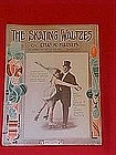 The Skating Waltzes, sheet music  1915