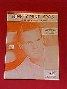Ninety-Nine Ways by Anthony September 1957