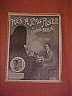 He's a rag picker, sheet music, Irving Berlin 1914