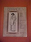 Dimples,Irene Franklin cover, sheet music 1913