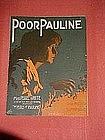 Poor Pauline, from the perils of Pauline, music 1914