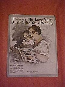 There's no love that's just like your mother's, 1913